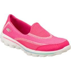 Girls' Skechers GOwalk 2 Pink