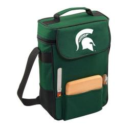 Picnic Time Duet Michigan State Spartans Embroidered Hunter Green