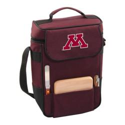 Picnic Time Duet Minnesota Golden Gophers Embroidered Burgundy