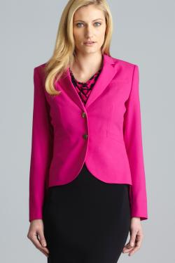 Calvin Klein Three Pocket Back Vented Blazer