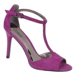 Women's Carlos by Carlos Santana Dream Magenta Kid Suede