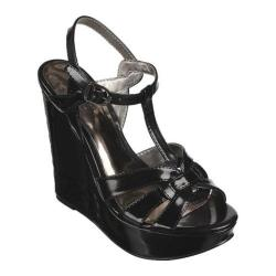 Women's Carlos by Carlos Santana Tender Black Attrito PU