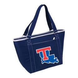 Picnic Time Topanga Louisiana Tech Bulldogs Print Navy