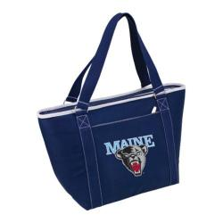 Picnic Time Topanga Maine Black Bears Print Navy