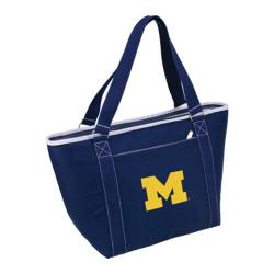 Picnic Time Topanga Michigan Wolverines Embroidered Navy