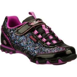 Girls' Skechers Bella Ballerina Prima Sparkle N Spin Black/Purple