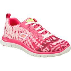Women's Skechers Flex Appeal Limited Edition Hot Pink