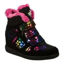 Girls' Skechers Hydee Hytops Double Trouble Growin Wild Black/Multi