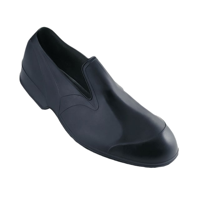 Weather Fashions Men's Black Storm Rubber Overshoes