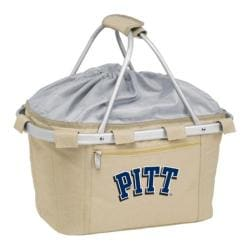 Picnic Time Metro Basket Pittsburgh Panthers Print Tan
