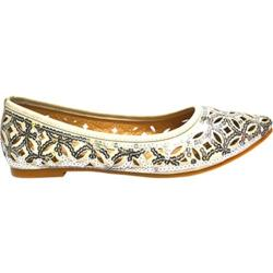 Women's Wild Diva Deby-6 Silver Faux Leather