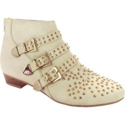 Women's Beston Art-01 Cream Faux Leather