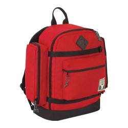 Outdoor Products Tioga Vintage Day Pack Red