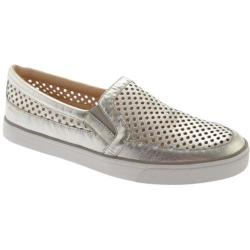 Women's Nine West Brodie Silver Metal Shadow Soft