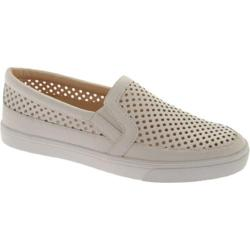 Women's Nine West Brodie White Talko Kid Leather