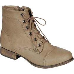 Women's Beston Georgia-41 Beige Faux Leather
