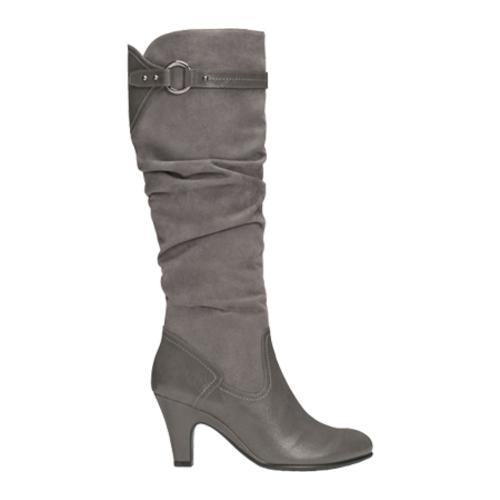 Women's Aerosoles Paperweight Grey Faux Suede/Faux Leather