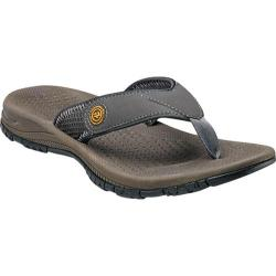 Men's Nunn Bush Donges Bay Grey Leather/Mesh