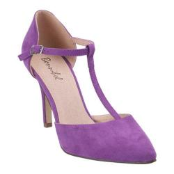Women's Beston Karla-2 Light Purple Faux Suede