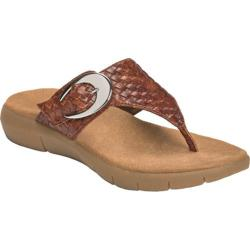 Women's A2 by Aerosoles Wipline Dark Tan Combo
