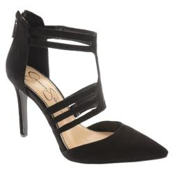 Women's Jessica Simpson Clementh Black Kid Suede