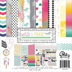 Wild & Free Collection Pack 12 X12 -