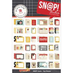 Say Cheese Double-Sided Card Pack 4 X6 24/Sheets - Sn@p!