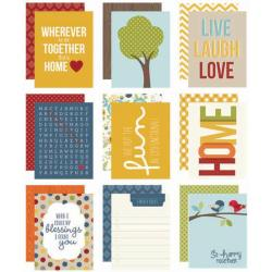 Family Sn@p! Double-Sided Card Pack 3 X4 48/Pkg -