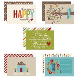 Family Sn@p! Double-Sided Card Pack 4 X6 24/Pkg -