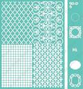Cuttlebug 5 X7 Embossing Folder/Border Set - Labels & Frames
