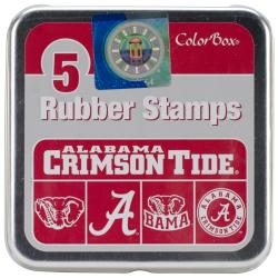 ColorBox University Licensed Stamp Set 3.5 X3.5 - University Of Alabama