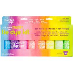 Tumble Dye Craft And Fabric Spray 2oz 8/Pkg - Neon Assorted Colors