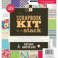 Scrapbook Kit In A Stack 8 X8 - Birthday