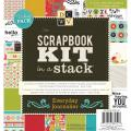 Scrapbook Kit In A Stack 8 X8 - Everyday