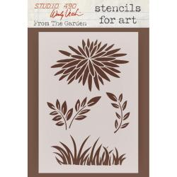 Wendy Vecchi Studio Stencil Collection 6.5 X4.5 - From The Garden