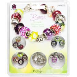 Large Hole Bracelet Kit - Bianca 15pcs