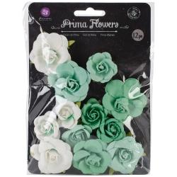 Le Mia Mulberry Paper Flowers 1.25 To 1.5 12/Pkg -