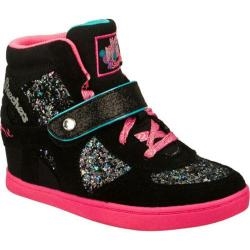 Girls' Skechers HyDee HyTops HyDee Plus 2 Rockin Right Black/Multi