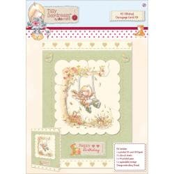 Tilly Daydream A5 Stitched Decoupage Card Kit -