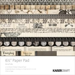 Art Of Life Paper Pad 6.5 X6.5 -