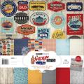 Garage Days Paper Pack 12 X12 - 6 Double-Sided Designs/2 Each + Stickers