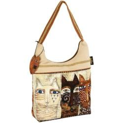 Scoop Tote Zipper Top 15 X4 X13 - Ancestral Cats
