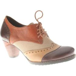Women's Spring Step Bardot Brown Multi Leather