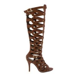 Women's Wild Diva Italy-18 Tan Faux Leather
