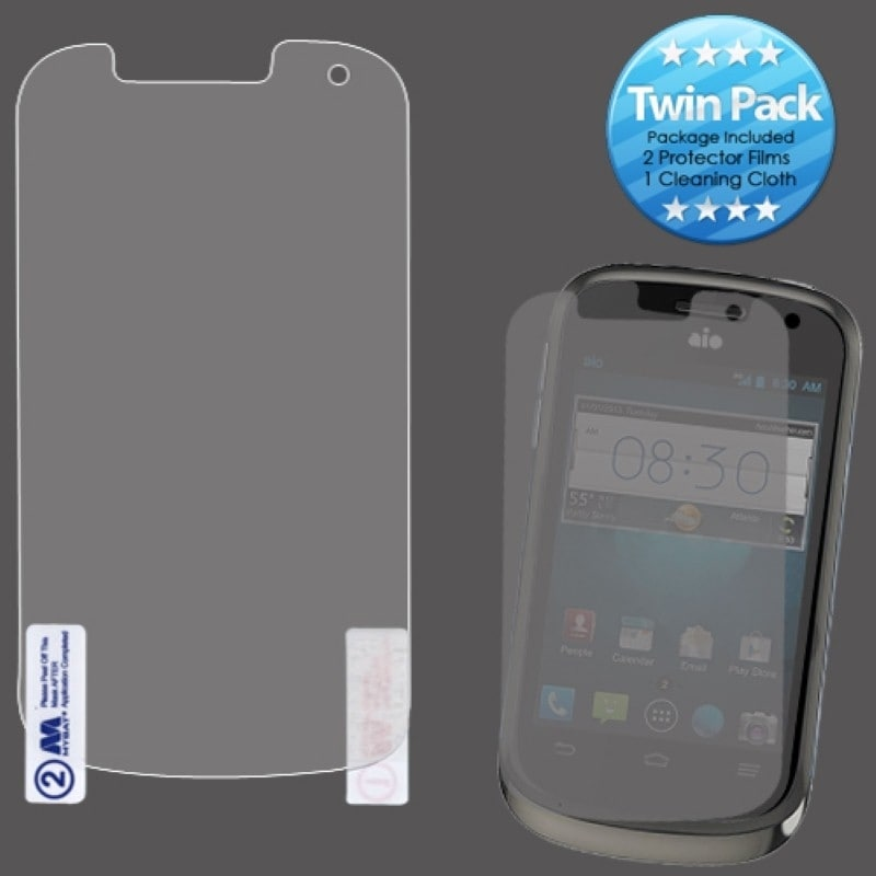 BasAcc Screen Protector Twin Pack for ZTE Z992 Avail 2