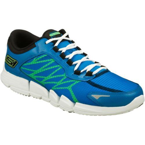 Men's Skechers GObionic Fuel Blue/Lime