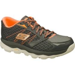 Men's Skechers GOrun Ultra Charcoal/Orange