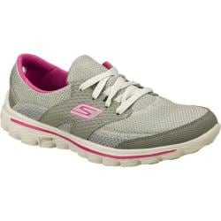 Women's Skechers GOwalk 2 Stance Gray/Purple