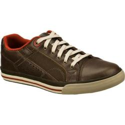 Men's Skechers Relaxed Fit Diamondback Tevor Chocolate