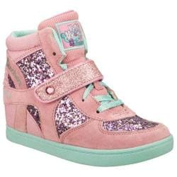 Girls' Skechers HyDee HyTops HyDee Plus 2 Rockin Right Pink/Aqua